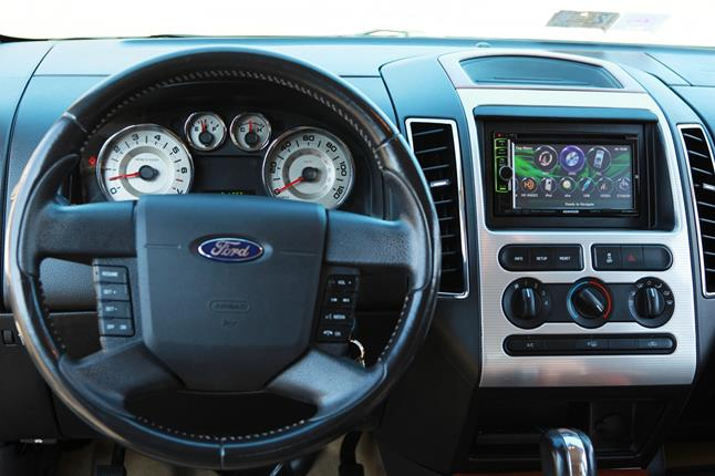 2008 Ford F 250 Radio Wire Diagram Add A Touchscreen Stereo Keep Your Car S Factory Features