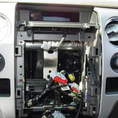 Wiring Diagram Ford F150 Radio Ocean Marine Food Web 2009-2014 F-150 Supercab Car Audio Profile
