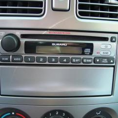 Basic Car Stereo Wiring Diagram Quadrajet Electric Choke 2003-2008 Subaru Forester Audio Profile