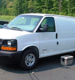 2003 up chevrolet express and gmc savana [ 1256 x 901 Pixel ]