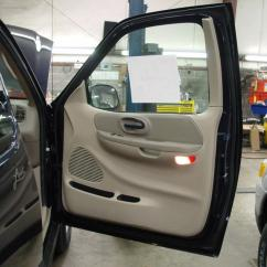 Power Window Wiring Diagram Ford F150 Kawasaki Klf300c How To Install New Car Audio Gear In Your 2001 2003 F 150 Front Door Windows