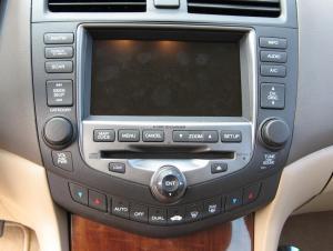 20032007 Honda Accord Sedan Car Audio Profile