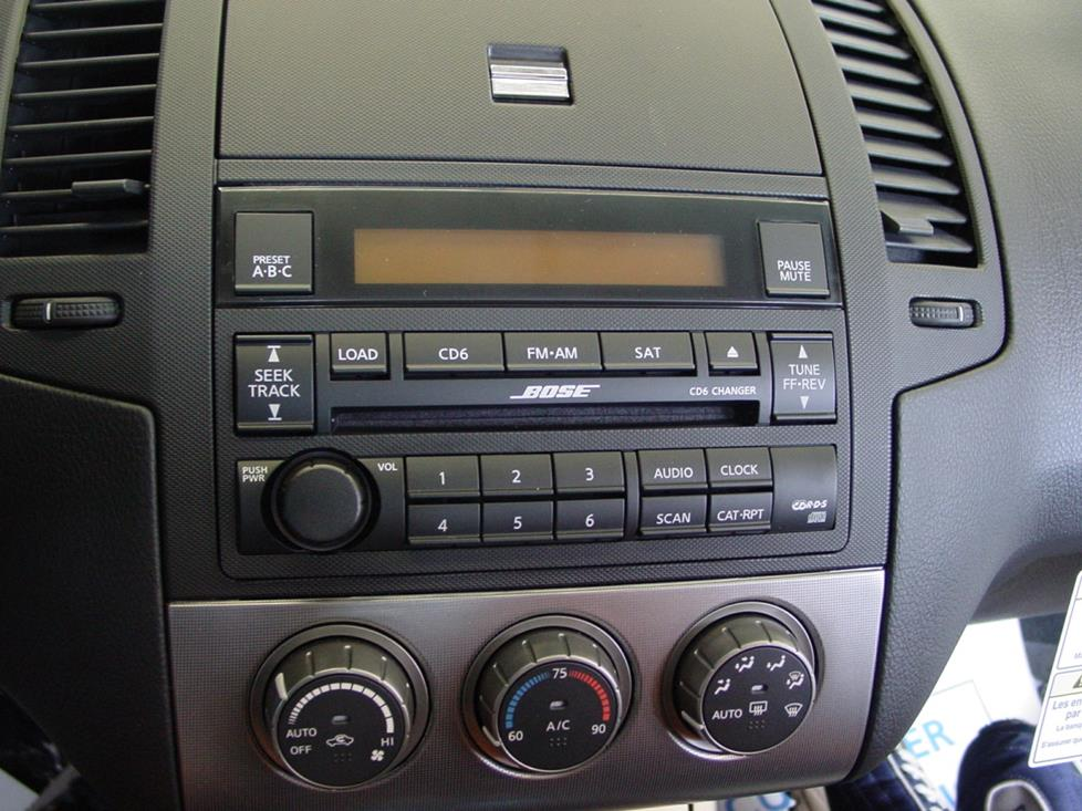 basic car stereo wiring diagram hotpoint electric stove 2005-2006 nissan altima audio profile