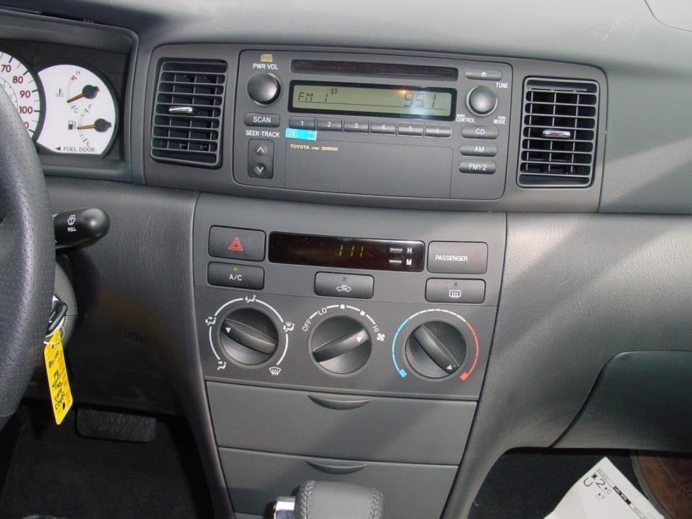 2006 toyota corolla stereo wiring diagram sportster 2003-2008 car audio profile