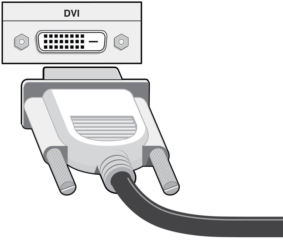 hight resolution of dvi digital visual interface