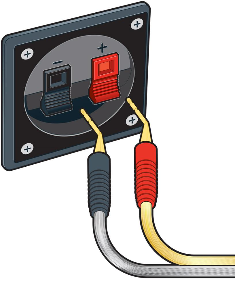 rca plug wiring diagram how to wire car speakers amp home a v connections glossary pin connectors