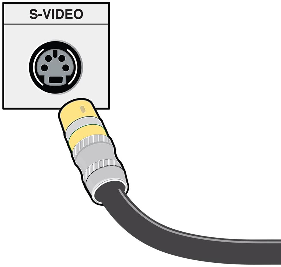 medium resolution of s video cable