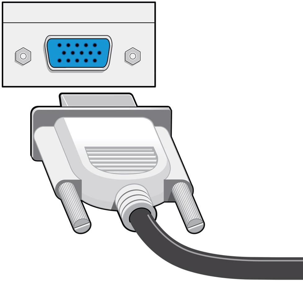 hight resolution of vga cable
