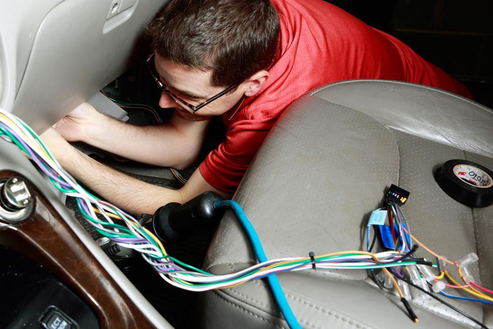 Custom Wiring Harness Makes Installing A New Stereo Much Easier
