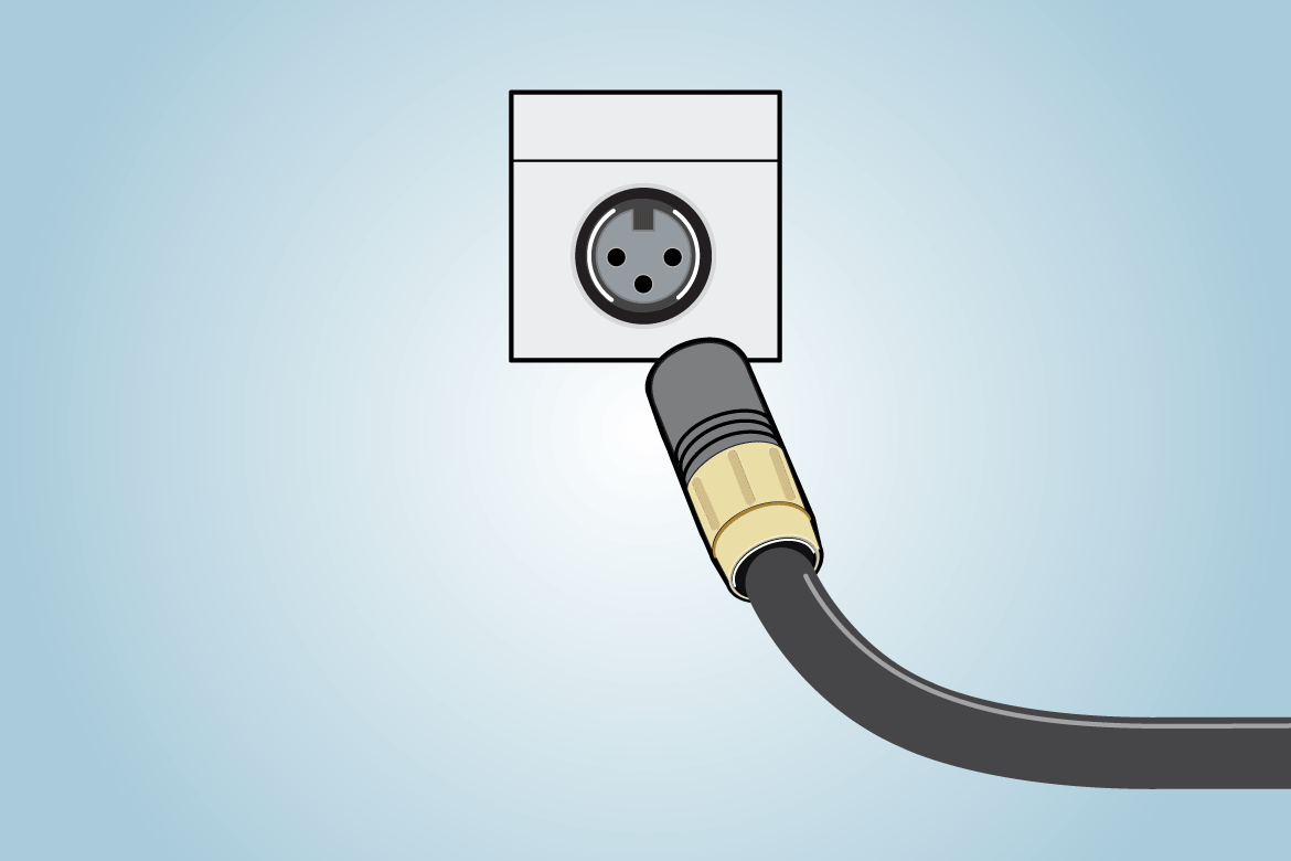 hight resolution of xlr connector png