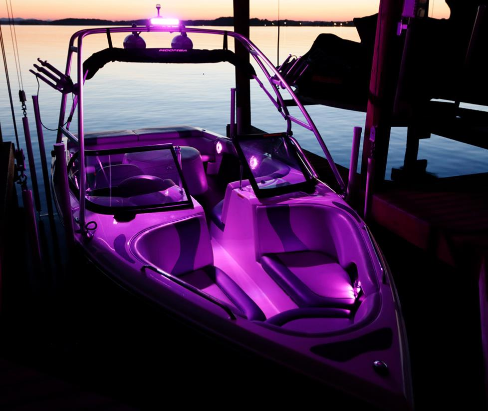 add led lighting to your boat