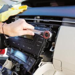 2002 Ford Escape Alternator Wiring Diagram Silverado 2500hd Radio How To Install A Car Stereo Installing In Prius Dash