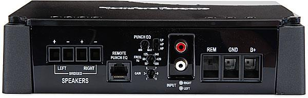 rockford fosgate punch p200 2 wiring diagram lennox heat pump thermostat channel car amplifier 50 watts rms x connections