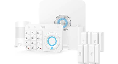Ring Alarm Security Kit Home security system with base