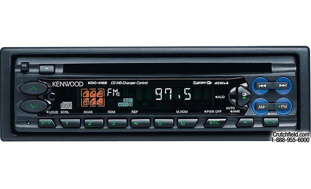 Kenwood Kdc 416s Cd Receiver With Cd Md Changer Controls