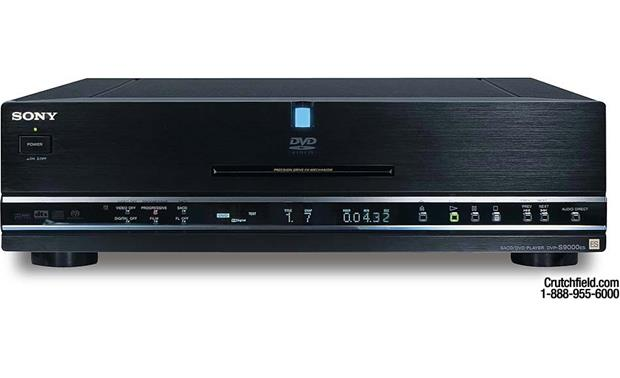 Sony DVP-S9000ES Reference DVD/CD/SACD player with progressive scan at Crutchfield