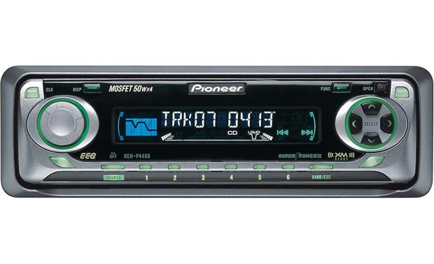 Pioneer DEH P4400 CD Receiver With CD Changer Controls At