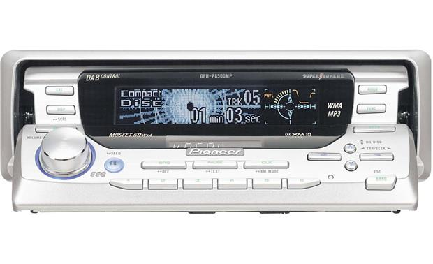pioneer deh functional flow block diagram visio p8500mp cd mp3 wma receiver with changer controls at front