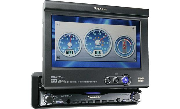 Pioneer AVIC N1 DVD CD MP3 GPS Navigation Receiver With 6 5