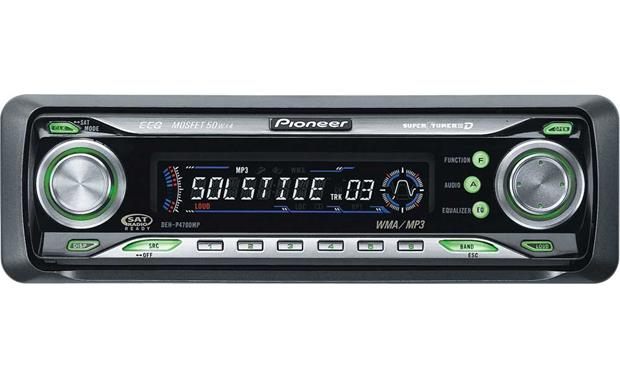 Pioneer DEH P4700MP CD Receiver With MP3 WMA Playback At