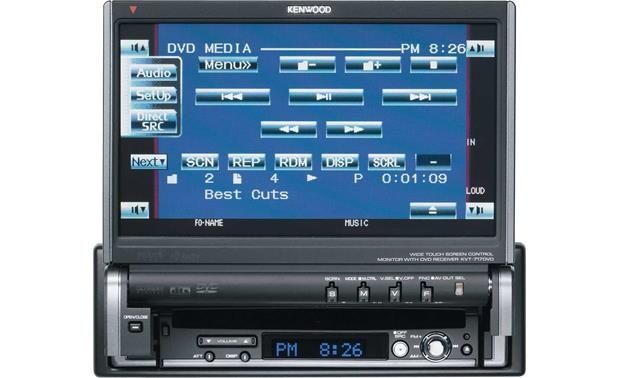 """Kenwood Excelon KVT-717DVD DVD/CD Player With 7"""" Video"""