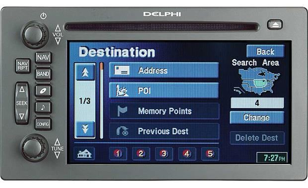 Gm Radio Wiring Diagram 2004 Envoy Suv Delphi Tnr800 Na40010 In Dash Cd Player Gps Navigation