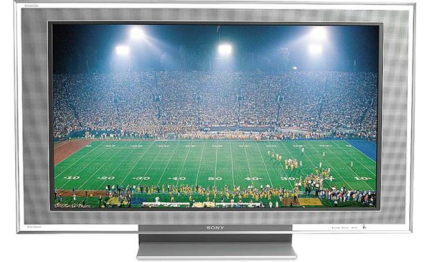 Sony KDL46XBR2 46 BRAVIA XBR 1080p LCD HDTV at Crutchfieldcom