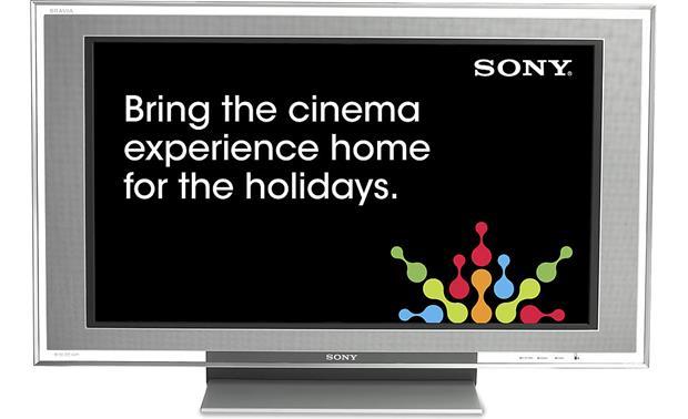 Sony KDL40XBR2 40 BRAVIA XBR 1080p LCD HDTV at Crutchfieldcom