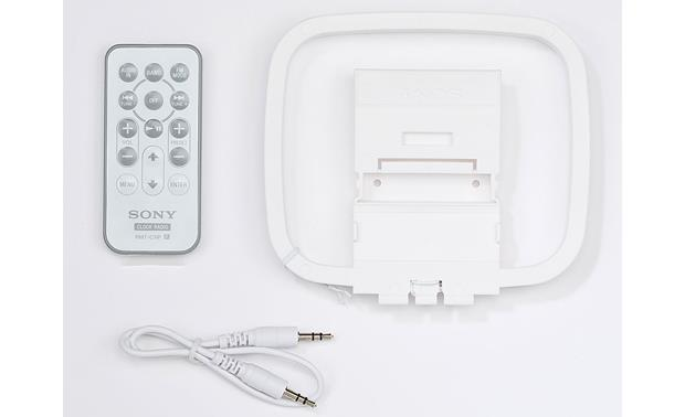 Sony ICF-C1IPMK2 (White) Clock radio with built-in iPod