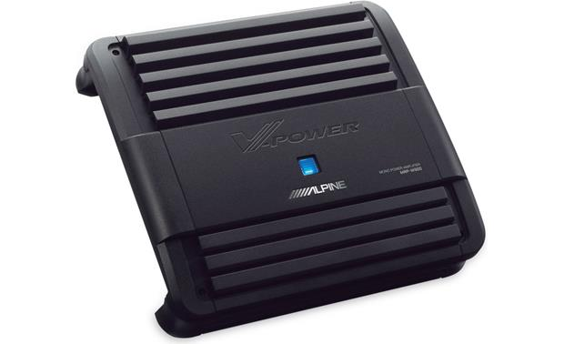 Alpine MRP M500 Mono Subwoofer Amplifier — 500 Watts RMS X 1 At 2