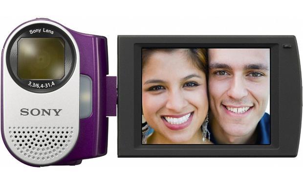 Sony MHSCM1 Webbie HD Eggplant Highdefinition Memory