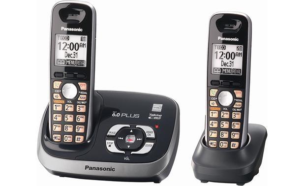 Panasonic KX-TG6532 Expandable cordless phone system with
