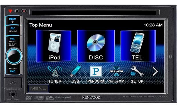 kenwood ddx419 wiring diagram citroen c4 boot dvd receiver at crutchfield com front