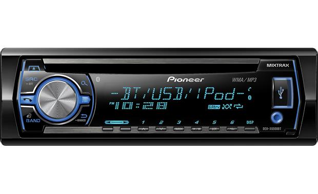 Pioneer DEH-X6500BT CD Receiver At Crutchfieldpioneer deh