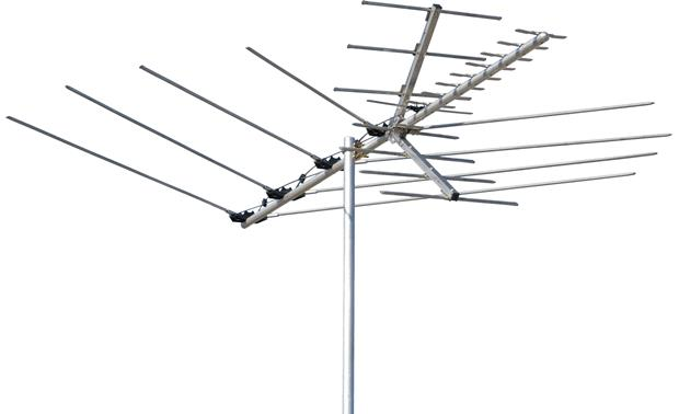 Channel Master 3016 Outdoor rooftop HDTV and FM antenna at