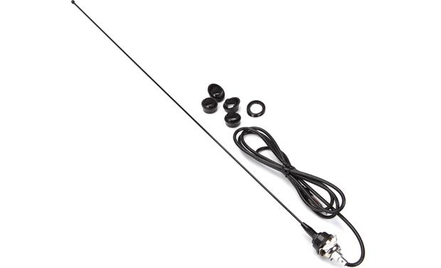 Replacement AM/FM Antenna Black stainless steel antenna
