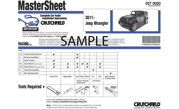 2007 Chevy Aveo Wiring Diagram Cd Crutchfield Car Audio Installation Instructions
