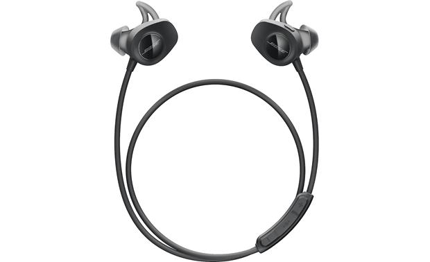 Bose® SoundSport® wireless headphones (Black) at Crutchfield