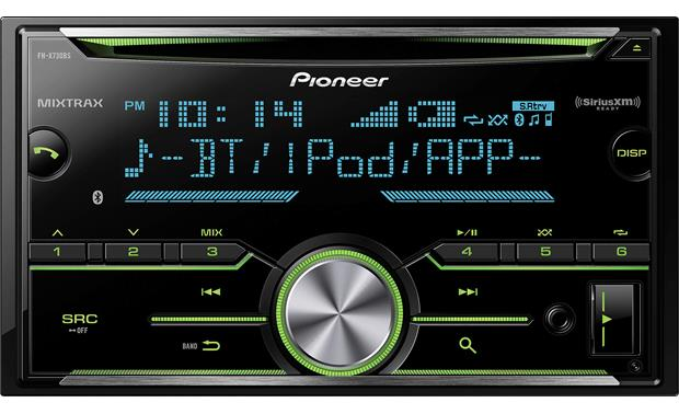 Pioneer Fh X730bs Cd Receiver At Crutchfield