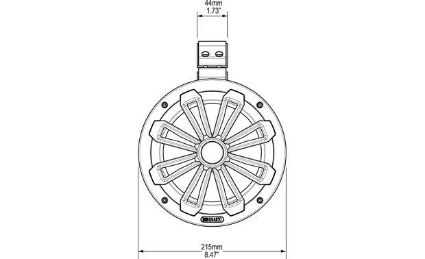 MB Quart NT1-120 (Light Gray) Nautic Series 8