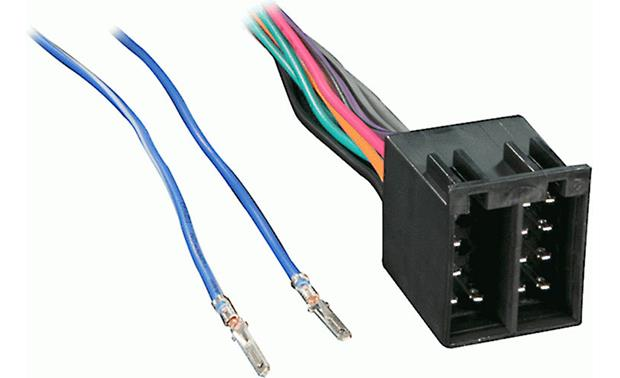 Metra 701817 Receiver Wiring Harness Connect A New Car Stereo In