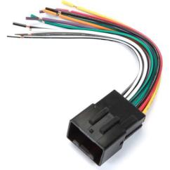 Ez Boom Wiring Diagram For Amp Metra 70 1771 Receiver Harness Connect A New Car Stereo In Front