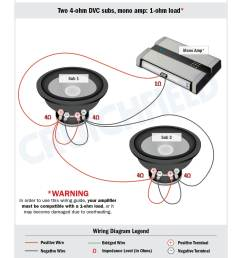 thaddeus two dvc 4 ohm can get wired together as a 1 ohm load like this diagram  [ 1275 x 1650 Pixel ]