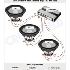 Wiring Diagram For Subs Multiple Light Subwoofer Diagrams
