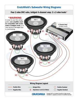 Subwoofer Wiring Diagrams