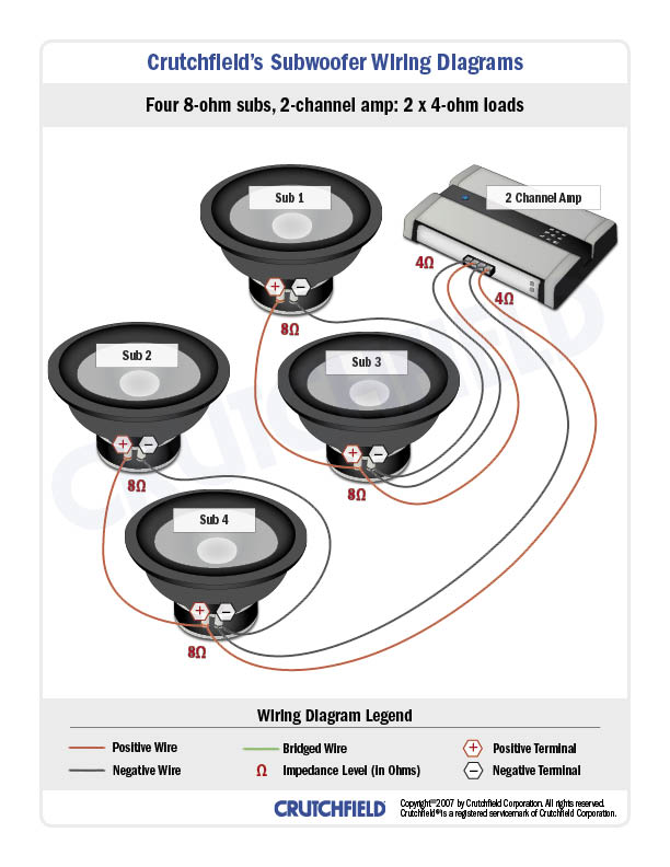 4 Ohm Wiring Diagram