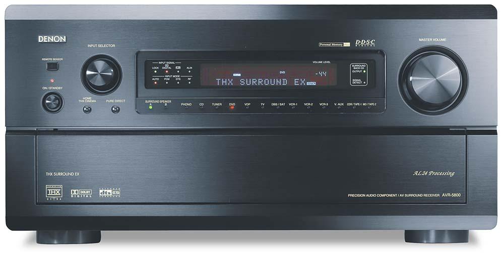 Denon AVR-5800 A/V Receiver THX Ultra, THX Surround EX