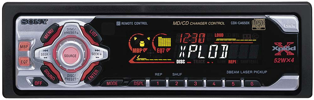 sony cdx ca650x wiring diagram 2016 f150 door cd receiver with changer controls at crutchfield com
