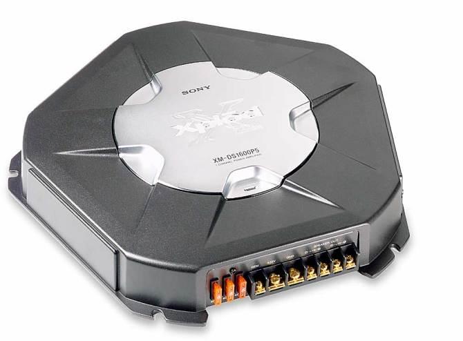 sony xmds1600p5 500w x 1 mono subwoofer amplifier at crutchfield