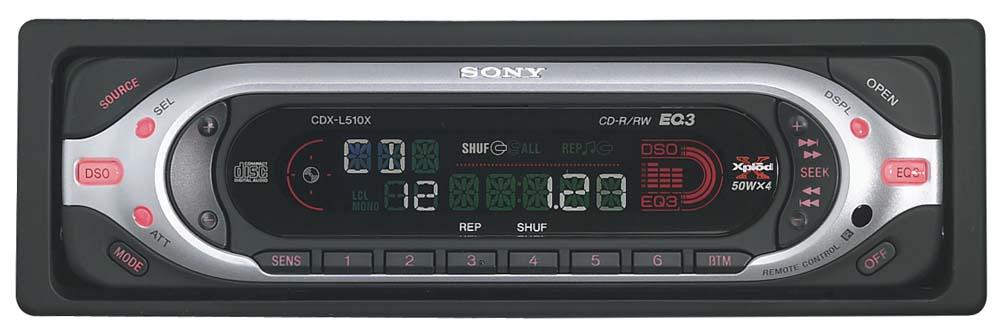 sony cdx l510x wiring diagram xentec hid cd receiver at crutchfield com